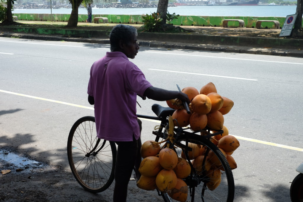 kokosnøtt-sykkel